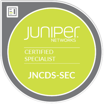 buy Juniper JNCDS-SEC and pass exam from home