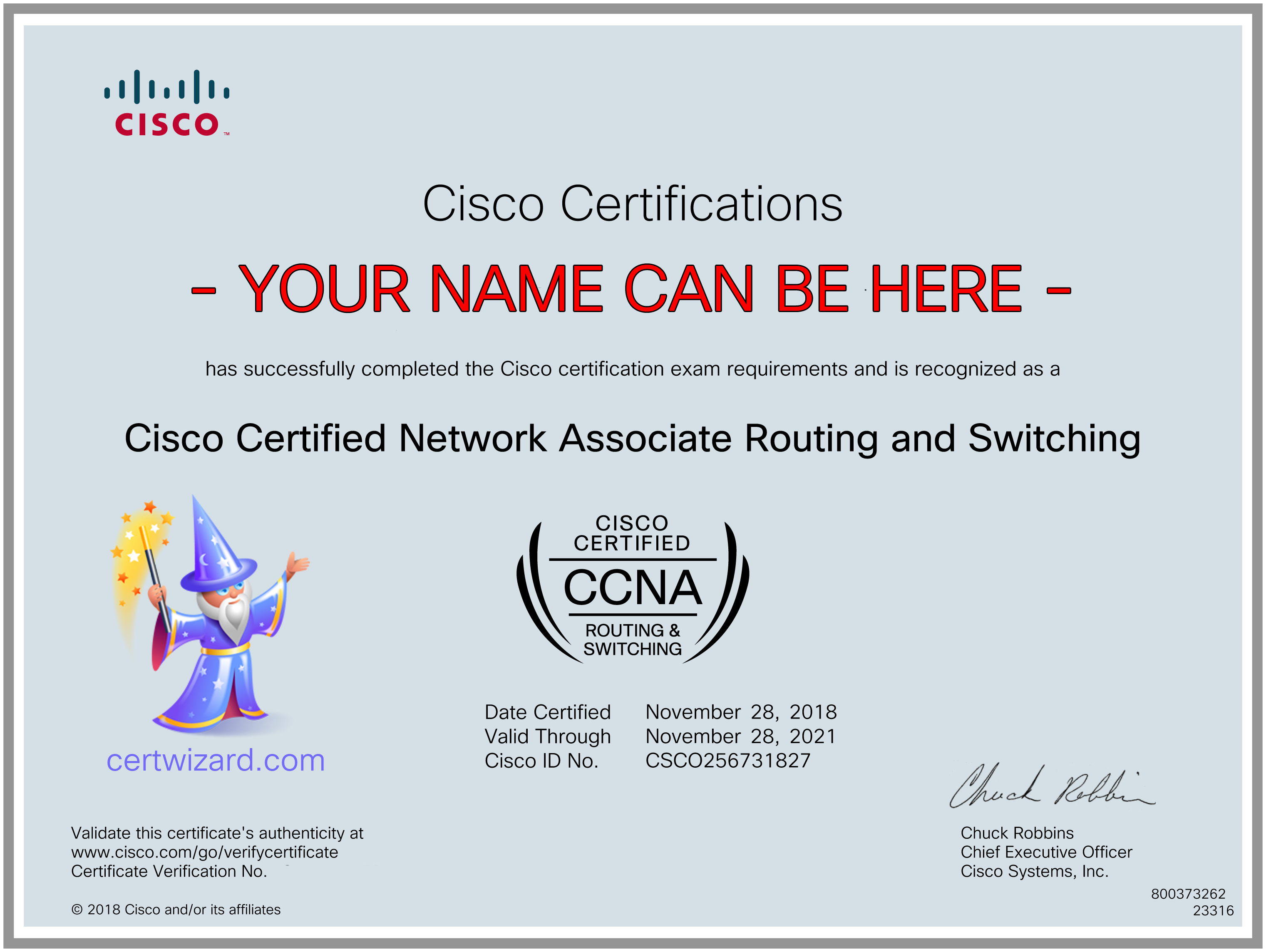 Cisco CCNA pass without Training, Study Guide or Test certwizard