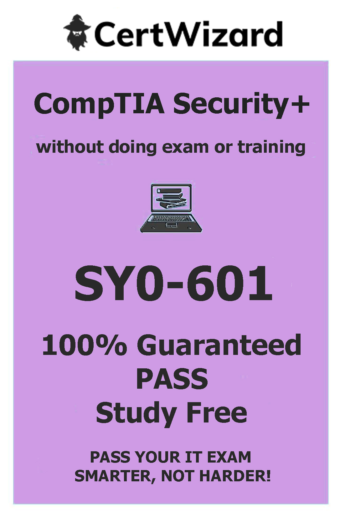 buy CompTIA Security+ exam 100% guaranteed pass study free without exam or prep