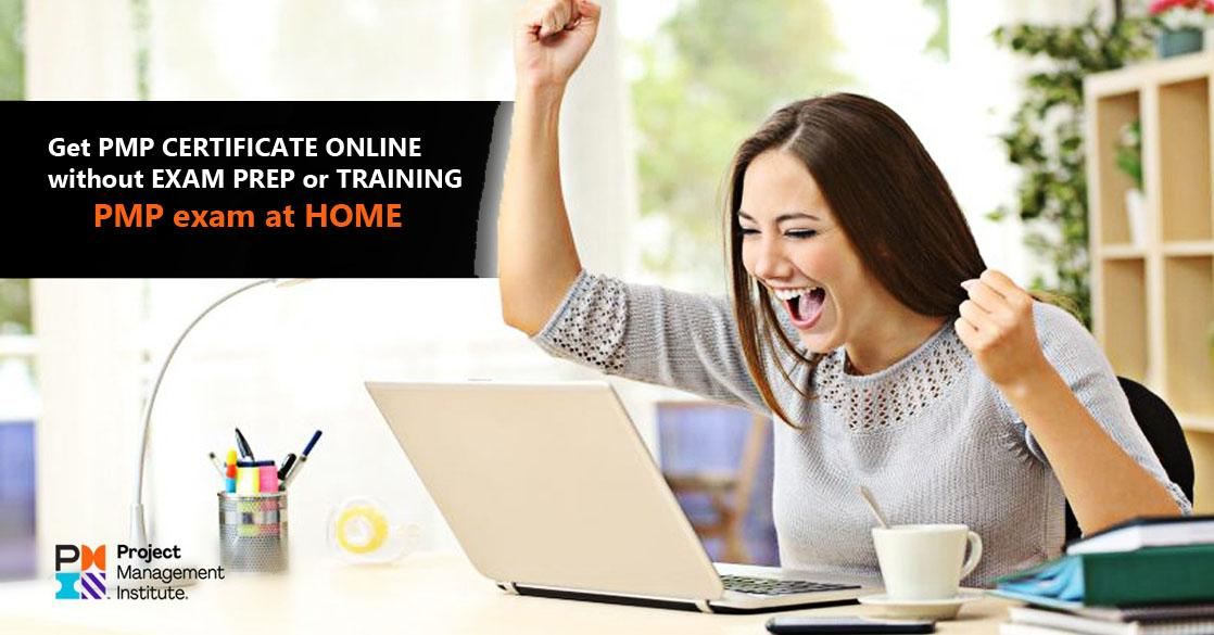 buy pmp online pass from home