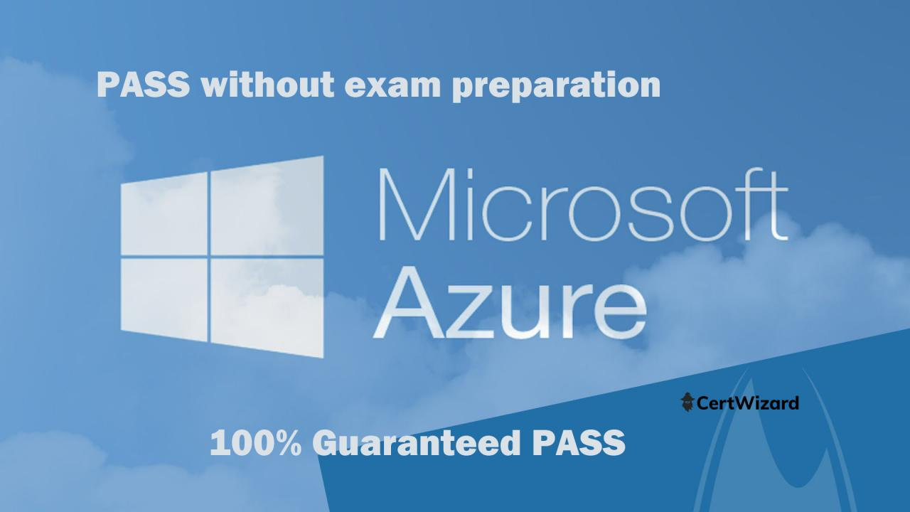 Pass Microsoft Azure certifications without exam study free