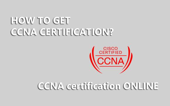 CCNA certification from Cisco